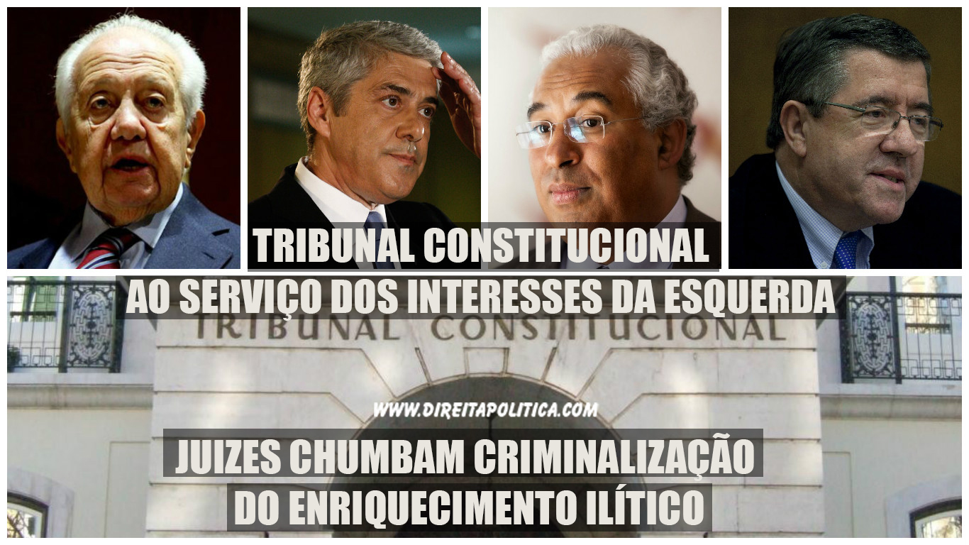 Tribunal constitucional chumba normas do enriquecimento injustificado.