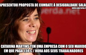 As empresas de Catarina Martins