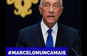 Marcelo Rebelo de Sousa é conivente com a corrupção do PS