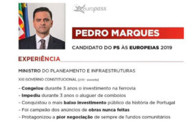 O Curriculum Vitae do candidato do PS às Europeias